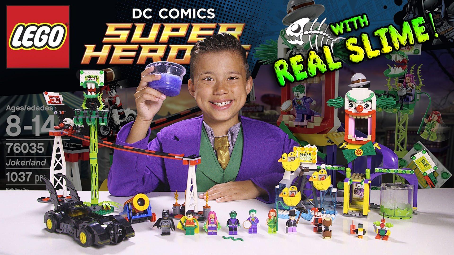 best jokerland lego dc comics super heroes set 76035. Black Bedroom Furniture Sets. Home Design Ideas